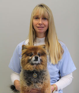 Specialist veterinary technicans Nathalie