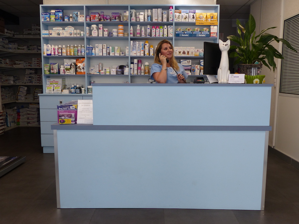 Clinique vétérinaire Nicea- Accueil